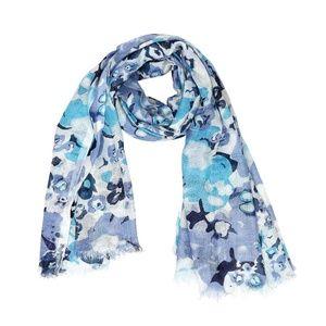 Scarf Blue Abstract Cotton Myra Bag  Cotton